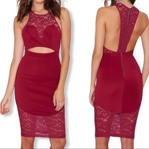 ✨NWOT Ginger Fizz Red Sexy Dress Small✨